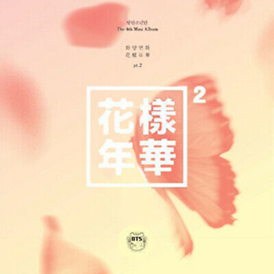 [BTS] IN THE MOOD FOR LOVE PT.2 4th Mini Album PEACH Version CD+Book+Card SEALED