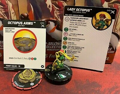 Lady Octopus 049 & Object Super Rare Marvel HeroClix: Earth X