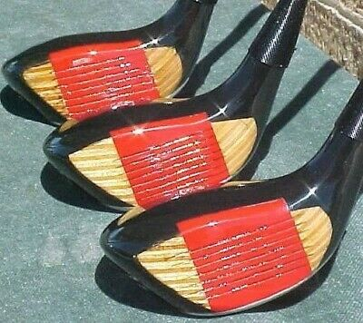 Ping Karsten 2 Golf Clubs Fairway Wood set 3 4 5 w New Red Lamkin R.E.L. Grips
