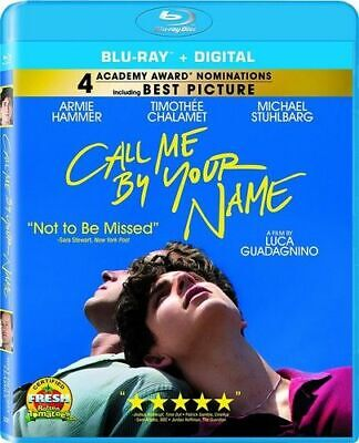 Call Me By Your Name New Bluray