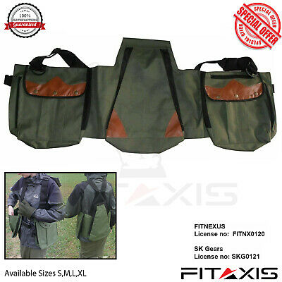 FITAXIS Falconry Vest Bird Hawking Hunting Codura  D-1000 Unique Green Color