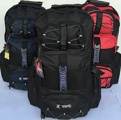 New Large Xtreme Camping Hiking Travelling Festival Rucksack Backpack