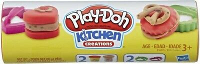 PLAY-DOH COOKIE CANISTER Brand New comes with cutters and confetti compound