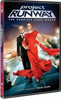 PROJECT RUNWAY TV SERIES COMPLETE SIXTH SEASON 6 New Sealed 3 DVD Set