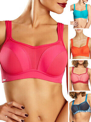 Chantelle High Impact Sports Bra Full Cup C29410 Convertible Underwired Running