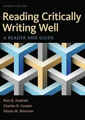 (EB00K) Reading Critically Writing Well, A Reader And Guide 11th Ed + free GIFT