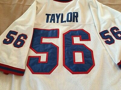 Lawrence Taylor New York Giants Mitchell   Ness Throwback Jersey 60  EMBROIDERED 7a27c720d
