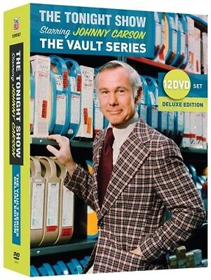 THE TONIGHT SHOW STARRING JOHNNY CARSON VAULT SERIES New 12 DVD Deluxe Edition
