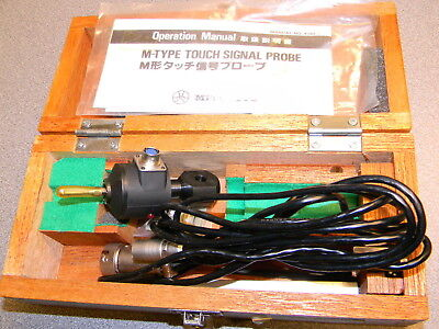Mitutoyo M-Type Touch Signal Probe W Cable, Manual, 321-011A