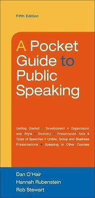 Ebook/ PDF ONLY: A Pocket Guide to Public Speaking by Rob Stewart, 5th Edition