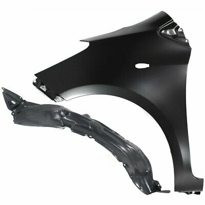 Fender New Front Left Hand Driver Side LH TO1240250 5381206210 for Toyota Camry
