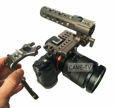 Germany Warehouse Clearance Sale Movcam DSLR A7S Baseplate Cage With Top Handle