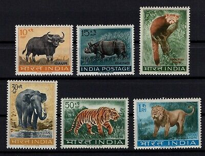 P106406/ Inde / India / Animal / Y&t # 147 / 152 Neufs ** / Mnh Complete