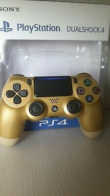 Controller Sony Wireless Ps4 Dualshock 4 Pad Gold Oro Playstation 4 V2 Joystick
