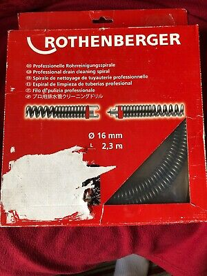 Rothenberger Pipe Cleaning Spiral 16mm*2.3m