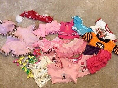 Build a bear clothes bundle teddy outfits suitable for dolls or toys