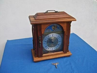 *emperor* Franz Hermle Westminster Chime Carriage Clock With Moon Dial