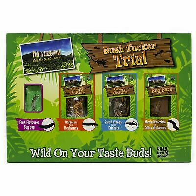 Reduced I'm A Celebrity Bush Tucker Trial Edible Insects Mealworms Crickets