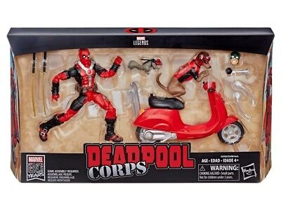 Marvel Legends Figure & Vehicle Set Deadpool Corps with Scooter Figure Preorder