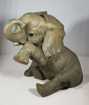 Large Elephant Ornament 'Missing You' From The Out Of Africa Collection