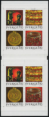 Sweden 2148a Booklet MNH Ancient Artifacts
