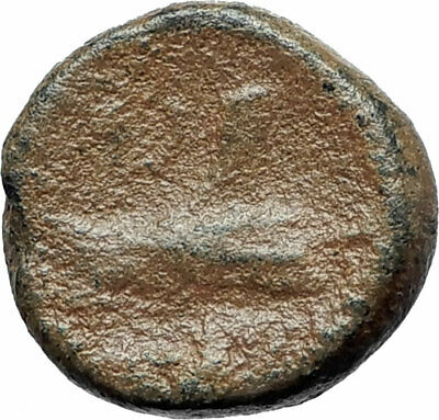 ARADOS in PHOENICIA Authentic Ancient 206BC Greek Coin w ZEUS & GALLEY i75621