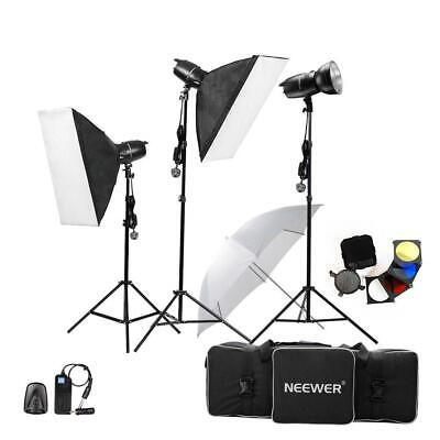 Neewer® 750W(250W x 3)Professional Photography Studio Flash Strobe Light...