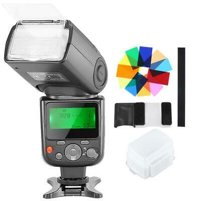 Neewer NW-670 TTL Speedlite Flash with Hard Diffuser,12 Color Filters for...