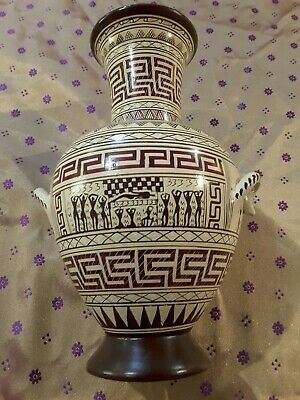 Geometric Period  Amphora Vase - National Museum Of Greece Replica 8th Century