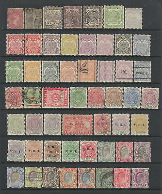 Transvaal collection, 54 stamps. MH or used