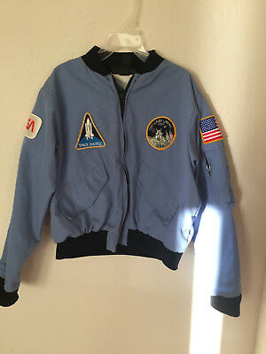 NASA Space Camp / Shuttle Center Commander Jacket Youth Large 8 RARE CommandWear