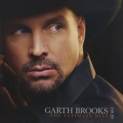 Garth Brooks: The Ultimate Hits 2-CD Set (CD, 2016)