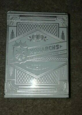 Silver Monarch Playing Cards (Unsealed great condition)
