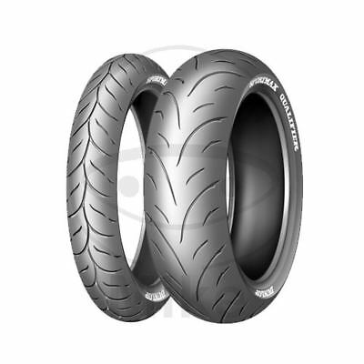 120/70ZR17 (58W) RUBBER DUNLOP QUALIFIER HONDA 600 CB F Hornet PC36 2002-2006