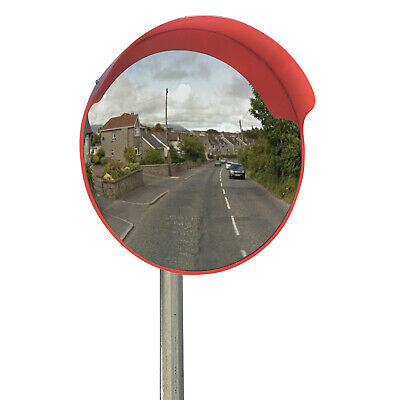 Driveway Convex Safety Mirror 45cm Road Blindspot Garage Mirror 18""