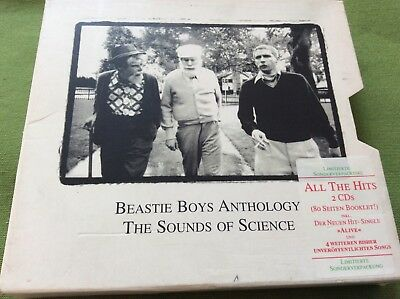 Best of Beastie Boys Anthology: The Sounds Of Silence Doppel CD + 80 S.Booklet