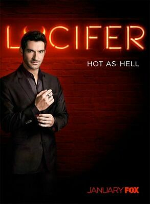 Lucifer Stagione 1 2 3 Complete In Dvd In Italiano