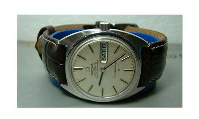 Vintage 1966 Omega AUTO Constellation Day Date MENS WATCH OLD USED Antique