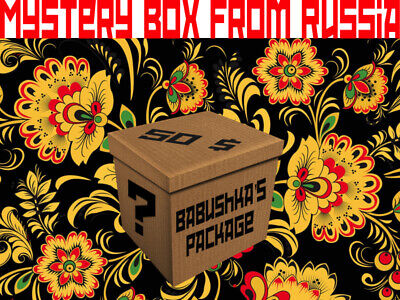 Mysteries box from Russia - 50$ Babuska's package Fun unboxing, Weird, Authentic