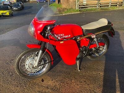 Royal Enfield Gt Continental 1966 Only Two Owners From New