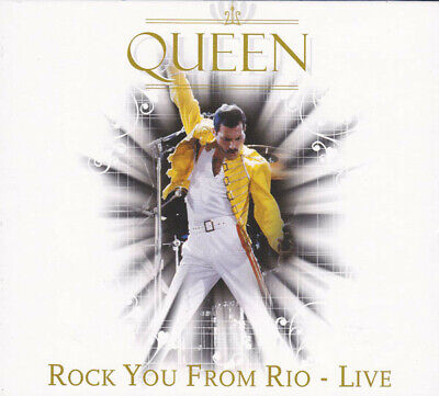 """QUEEN """"ROCK YOU FROM RIO - LIVE""""  cd mint"""
