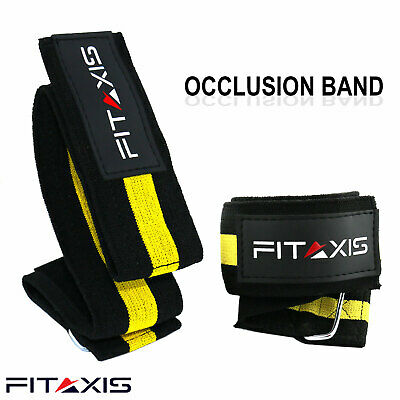 "Occlusion Training Resistance Bands & Expande for Legs Arms L-36.50""/M-24.50""."