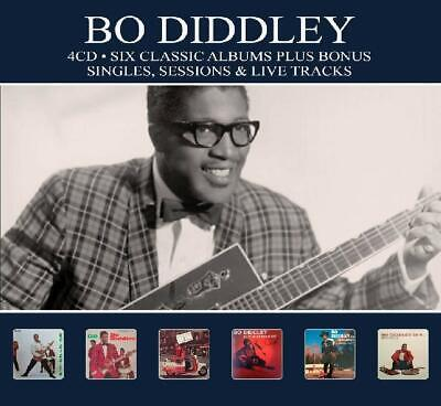 Bo Diddley - 6 Classic Albums Plus  4 Cd Neuf