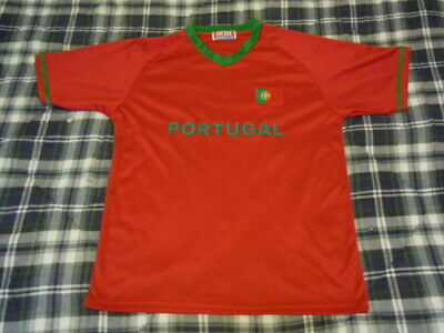 87d0dc4b5d9 PORTUGAL Football WORLD CUP Soccer Jersey - SEWN LOGO - Adult Mens Large L