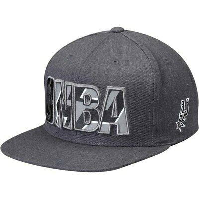 meet 705a7 85add San Antonio Spurs Mitchell   Ness Insider Reflective Snapback Adjustable Hat  -