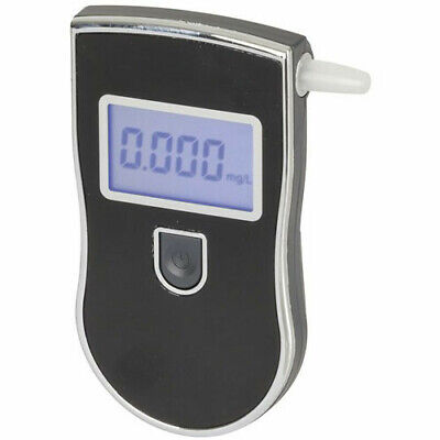 MAIN UNIT Portable Easy One-button Operation Alcohol Breath Tester w/ LCD