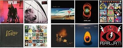 Pearl Jam Discography Brand New Sealed LP Vinyl Record Albums Ten Vs. Vitalogy +