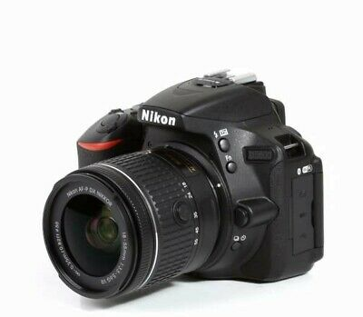 NIKON D5600 Digital SLR Camera + AF-P DX Nikkor 18-55mm f/3.5-5.6G VR Lens SALE