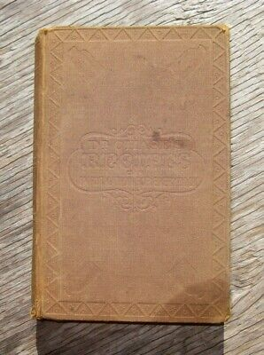 Civil War Antique Cookbook Farm Home Recipes Herbal Medical Cures Pioneer Beer