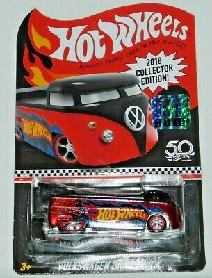 2018 Hot Wheels Rlc Factory Set Collector Edition Mail In Volkswagen Drag Truck